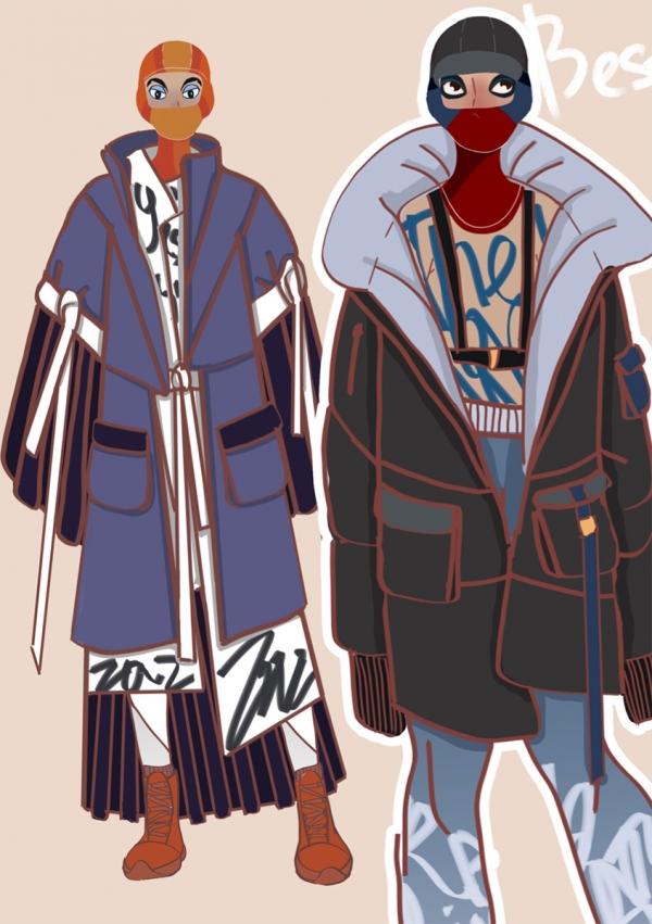Коллекция молодежной одежды по мотивам анимационного фильма «Король Лев»