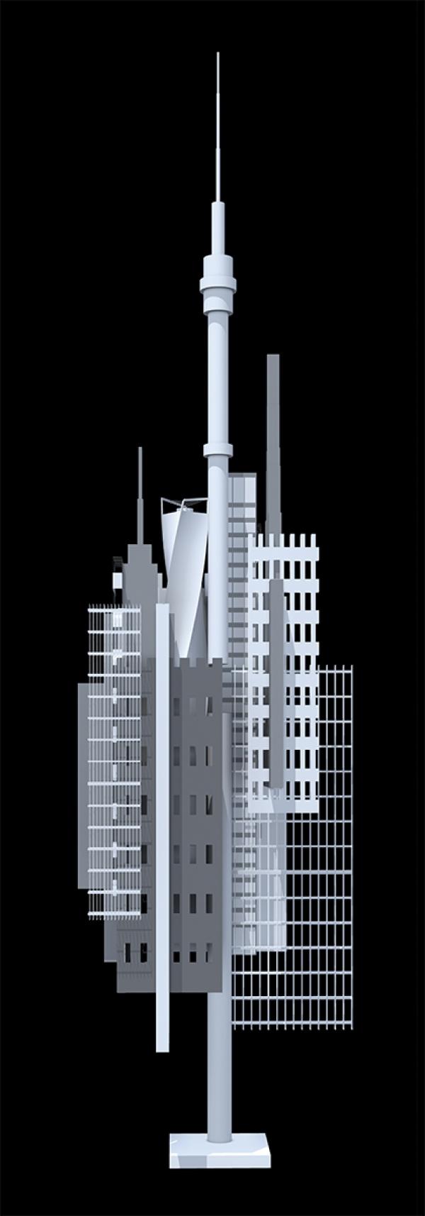 Эскизный проект арт-объекта «Новая Москва»