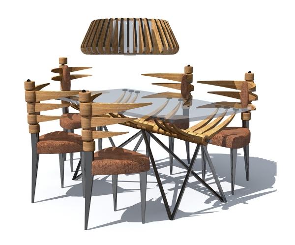 Проект комплекта мебели «До нашей эры»