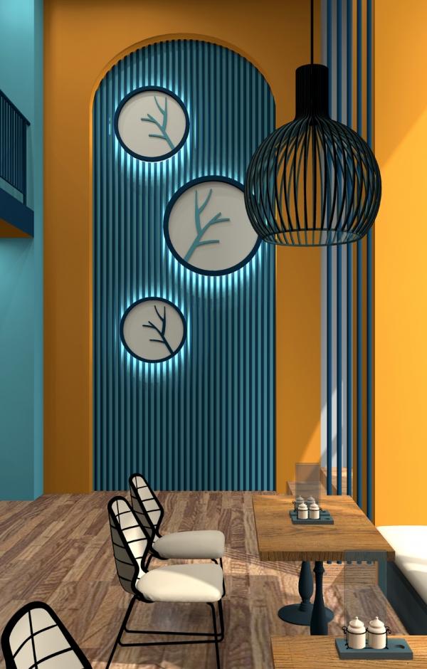 Интерьеры кафе «Шафран»
