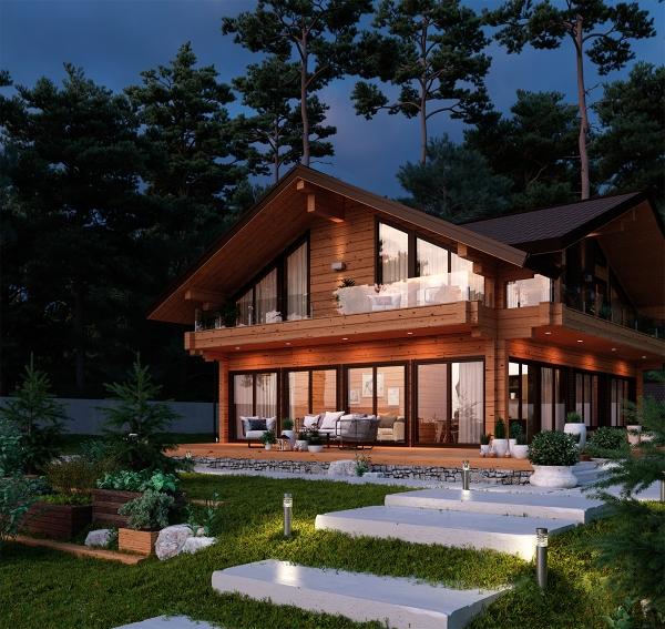 Участок загородного дома