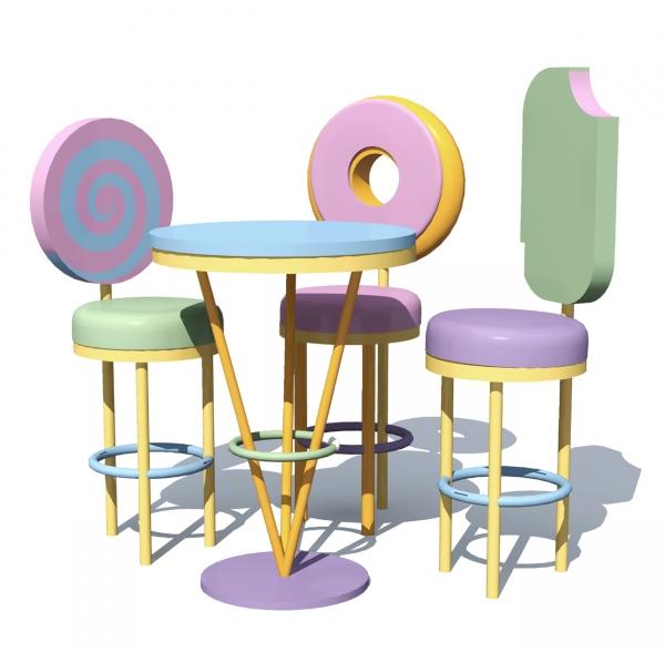 Комплект мебели «Сладости»