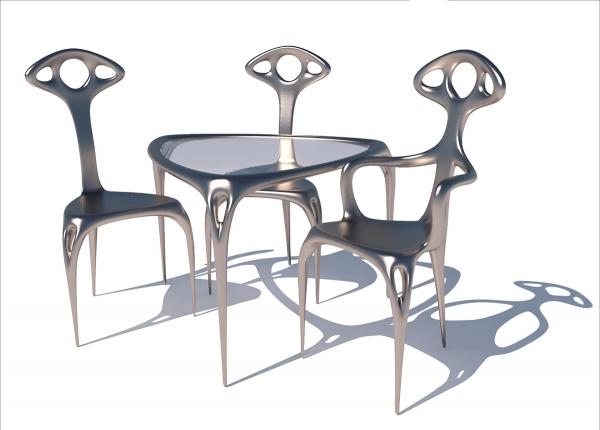 Проект комплекта мебели «Alien»