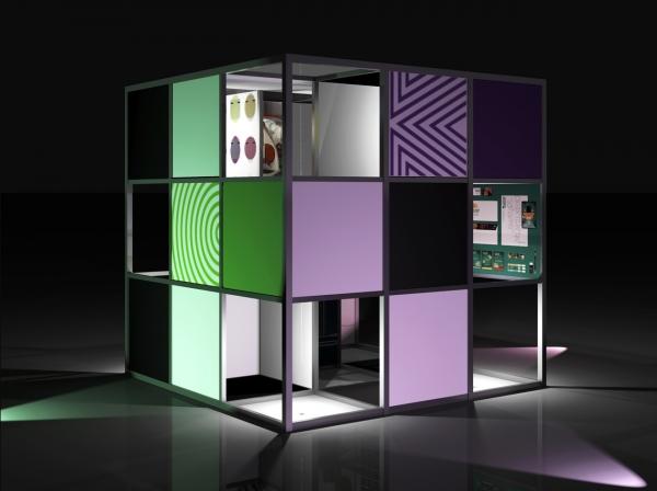 Выставочный модуль Национального Института Дизайна